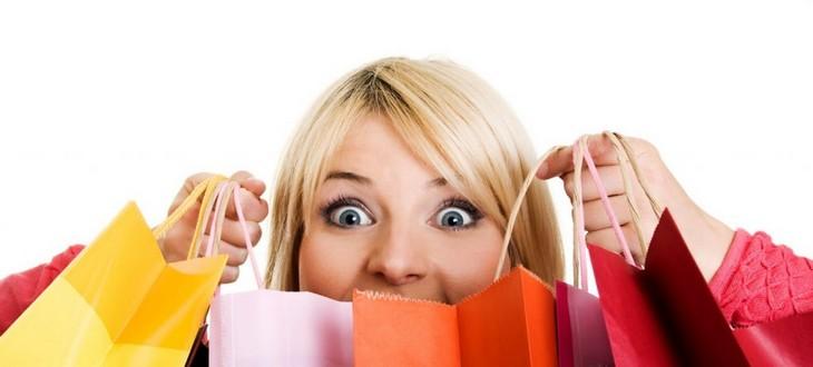 пакеты с покупками