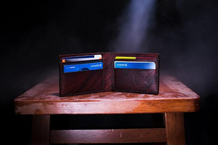 кошелек с картами