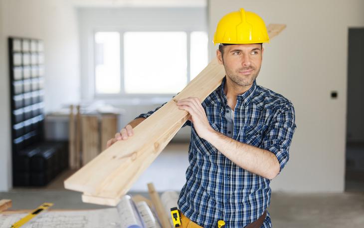 строитель фото