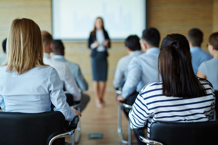 лектор и аудитория