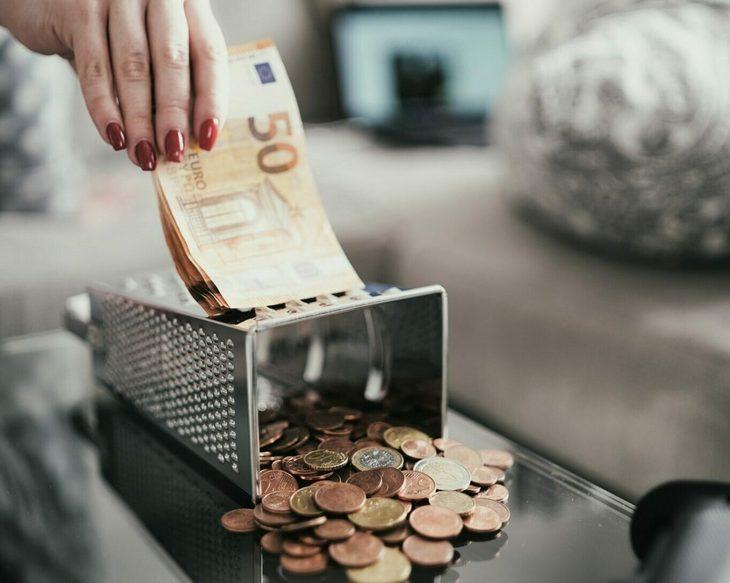 деньги и терка