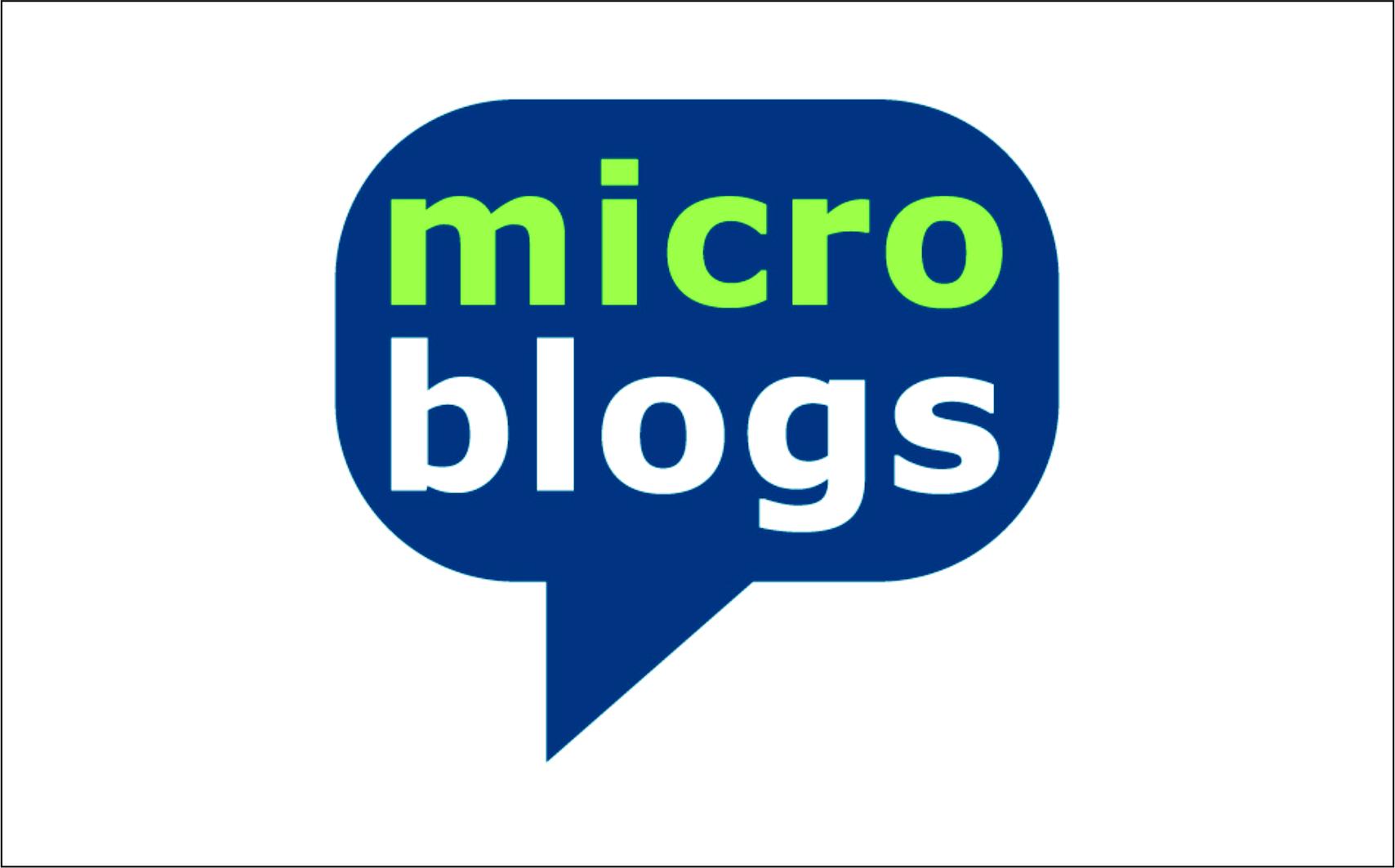 микроблог