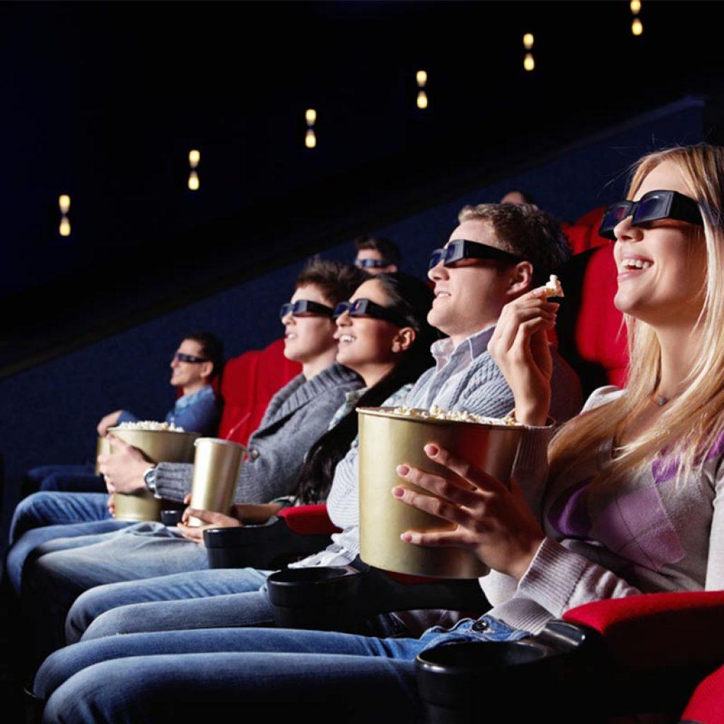 Зрители в кинотеатре