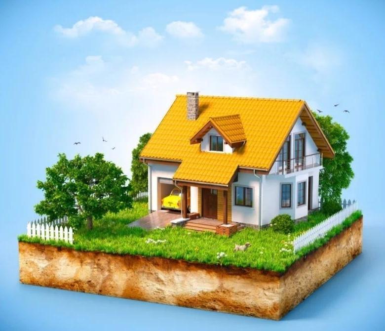 дом и земельный участок