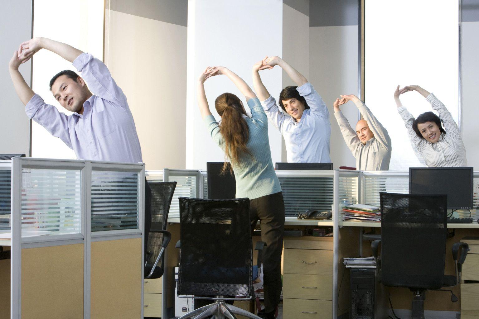 Здоровый образ жизни на работе
